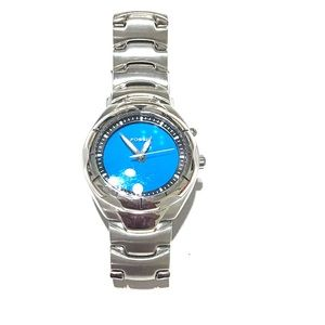 FOSSIL BLUE Stainless Steel Men's Watch - Used